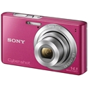 Picture of Sony Cybershot DSC-W610 Pink